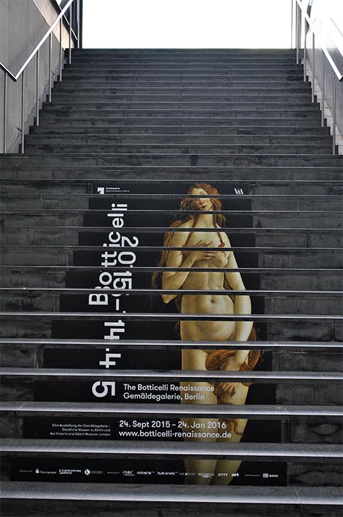 botticelli Treppenaufgang