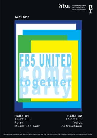 FB5 come together Plakat