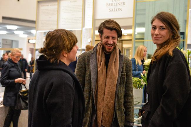 Michael Sonntag und Isabell de Heilerin im Gespräch