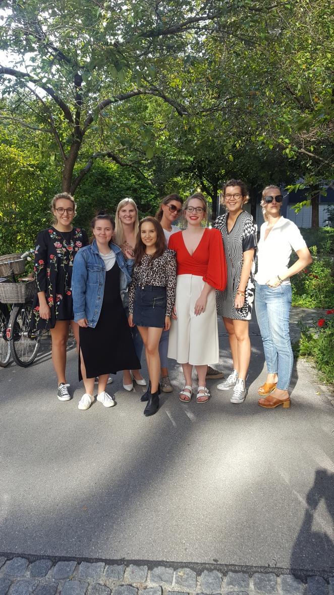 Susi mit dem InStyle Team