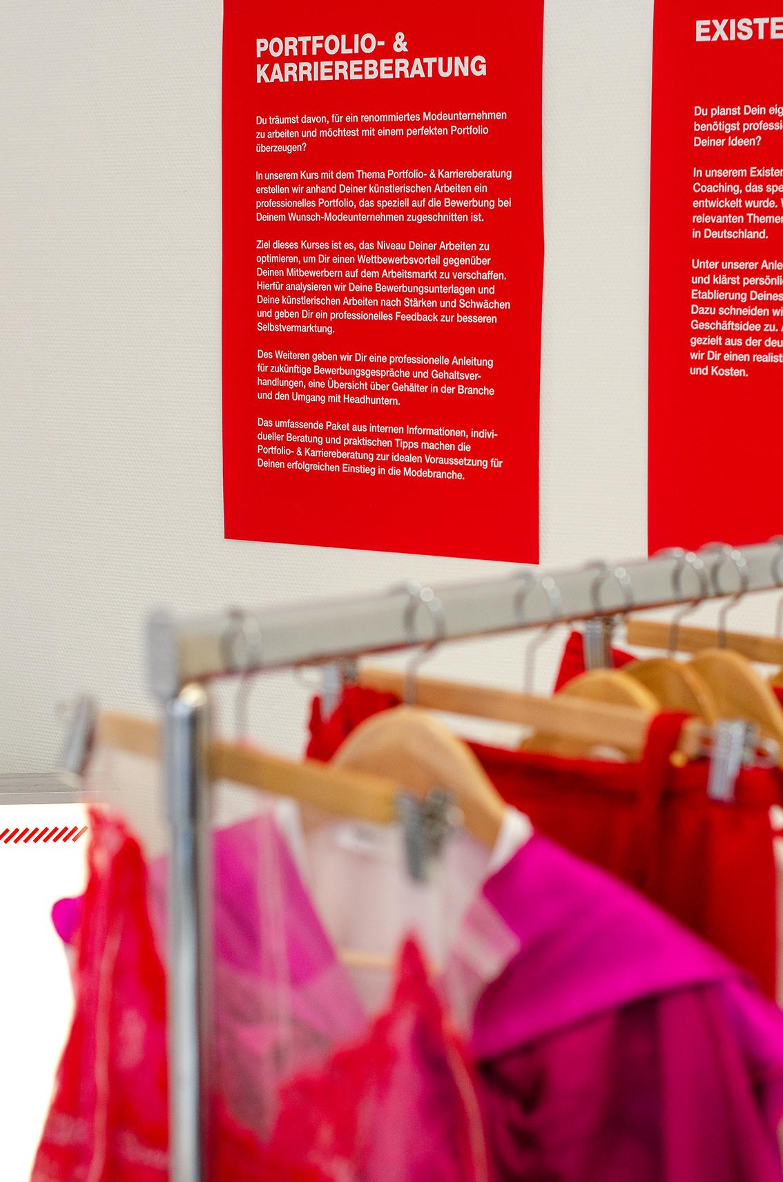 about:Fashion unterstützt beim Einstieg in die Modebranche. Fotocredit: Studio Karpstein